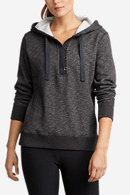 Women's Brushed Fleece Hooded Pullover