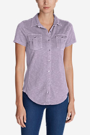 Women's Ravenna Short-Sleeve Button-Front Shirt
