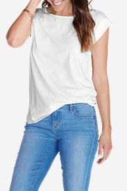 Women's Girl On The Go Gate Check Top