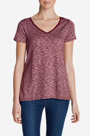 Petite Tops for Women: Women's Lake Serene Short-Sleeve Top