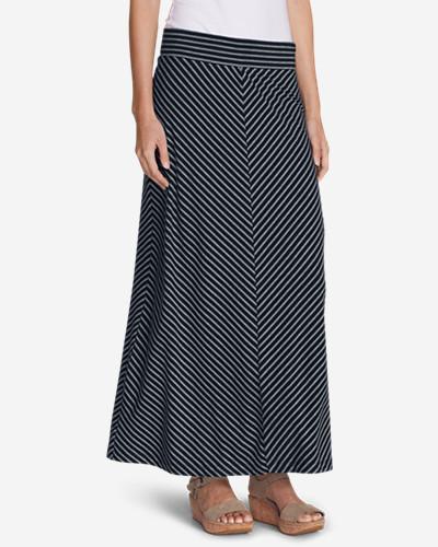 Women's Kona Maxi Skirt - Stripe