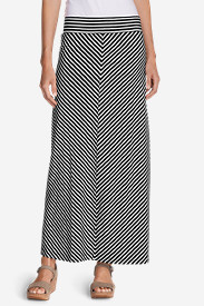 Striped Skirts for Women: Women's Kona Maxi Skirt - Stripe