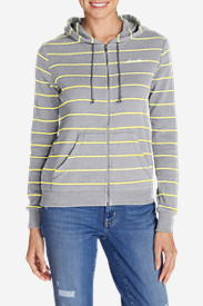 Cotton Tops for Women: Women's Legend Wash Stripe Hoodie