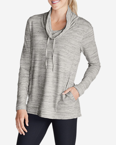Gray Plus Size Pullovers for Women: Women's Fairview Pullover