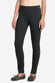Gray Dress Pants for Women: Women's Passenger Ponte Skinny Pants