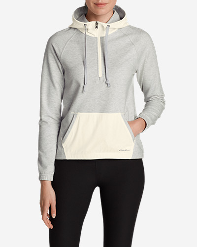 Gray Plus Size Pullovers for Women: Women's Summit Pullover