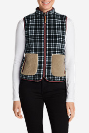 Plaid Vests: Women's Trophy Reversible Vest