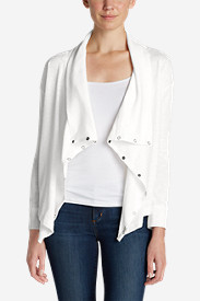 White Tees for Women: Women's 7 Days 7 Ways Cardigan
