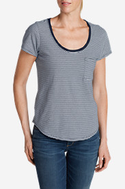 Women's Gypsum T-Shirt - Stripe