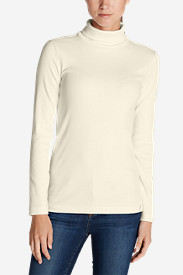 Cotton Tops for Women: Women's Lookout 2x2 Rib Long-Sleeve Turtleneck