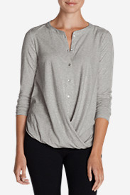 Wrap Tops for Women: Women's Girl On The Go Wrap It Up Top