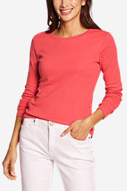 New Fall Arrivals: Women's Favorite Long-Sleeve Crewneck T-Shirt