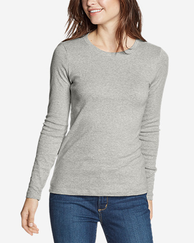 Women s Favorite Long-sleeve Crewneck T-shirt  18dd46e4c