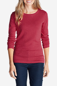 Women's Favorite Long-Sleeve Crewneck T-Shirt