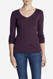 Women's Favorite Long-Sleeve V-Neck T-Shirt