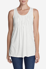 Women's Pintuck Tunic Tank Top