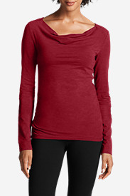 Women's Girl On The Go® Drape-Neck Top