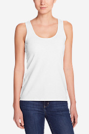 Comfortable Tops for Women: Women's Layering Tank Top - Solid