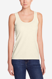 Tall Tank Tops for Women: Women's Layering Tank Top - Solid