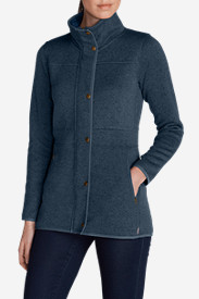 Blue Petite Outerwear for Women: Women's Radiator Fleece Jacket