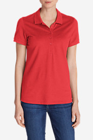 Women's Piqué Short-Sleeve Polo Shirt