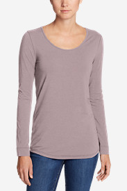 Women's Pima Scoop-Neck T-Shirt - Solid