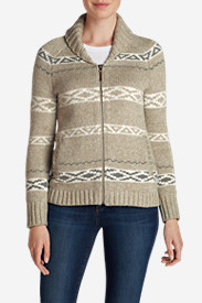 Plus Size Sweaters for Women: Women's Campfire Sweater Coat