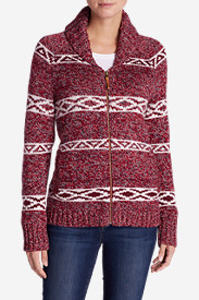 Red Cardigans for Women: Women's Campfire Sweater Coat