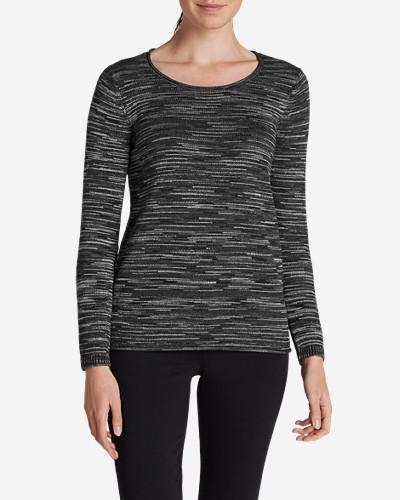 Eddie Bauer Women's Sweatshirt Sweater - Space Dye