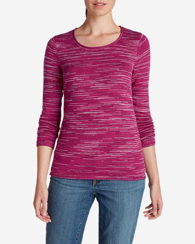 Women's Sweatshirt Sweater - Space Dye