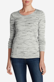 Gray Plus Size Sweatshirts for Women: Women's Sweatshirt Sweater - Space Dye
