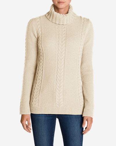 Women's Cable Fable Turtleneck Sweater