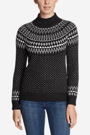 Women's Arctic Fair Isle Sweater