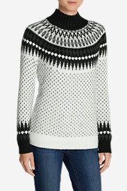 Plus Size Sweaters for Women: Women's Arctic Fair Isle Sweater