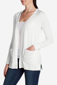 Cotton Sweaters for Women: Women's Christine Boyfriend Cardigan Sweater