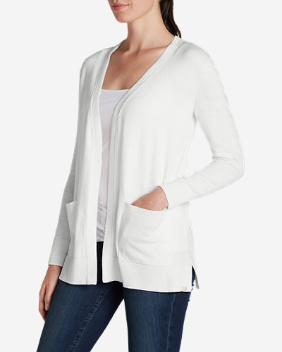 Cotton Cardigans for Women: Women's Christine Boyfriend Cardigan Sweater