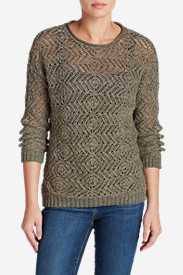 Plus Size Sweaters for Women: Women's Peakaboo Pullover Sweater