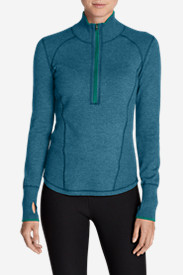 Blue Sweaters for Women: Women's Engage 1/4-Zip Sweater