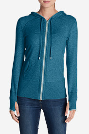 Blue Sweaters for Women: Women's Engage Full-Zip Hoodie Sweater
