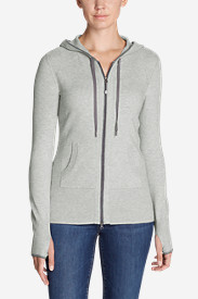 Gray Hoodies for Women: Women's Engage Full-Zip Hoodie Sweater