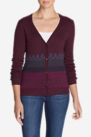 Women's Christine Fair Isle Cardigan Sweater