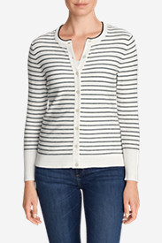 Women's Christine Cardigan Sweater - Stripe