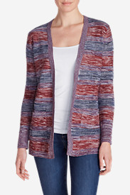 Women's Boyfriend Marled Cardigan Sweater