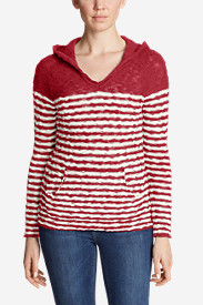 Women's Westbridge Hoodie Sweater - Stripe
