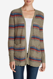 Cotton Sweaters for Women: Women's Open Boyfriend Cardigan Sweater