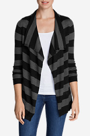 Women's Flightplan Cardigan Sweater - Stripe