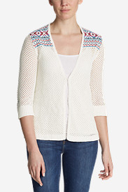 Women's Beachside Cardigan Sweater - Pattern