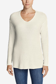 Women's Christine Rib V-Neck Sweater