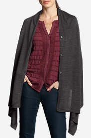 Women's Flight Plan Cape Sweater