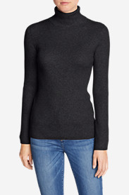 Cardigan Sweaters for Women: Women's Medina Turtleneck Sweater